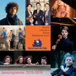Jaarprogramma 2015-2016 Kunst aan de Dijk